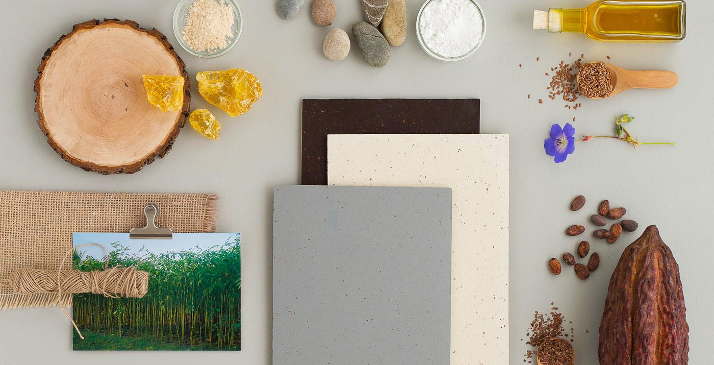Duurzaam en Gezond_Geupcycled Marmoleum Cocoa