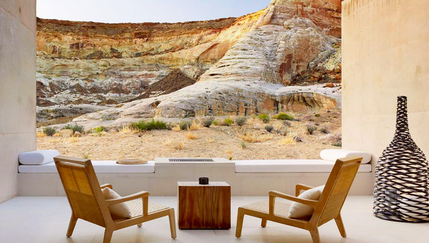 resort and spa Amangiri in utah
