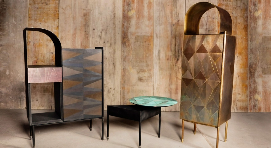 Marque collection by Alessandro Zambelli for Matter of stuff