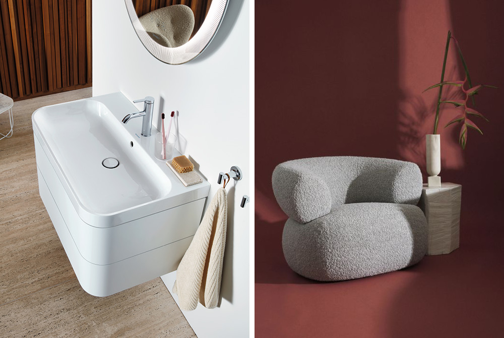 Duravit Happy D.2. - relaxing atmosphere in the bathroom - Trend Compass