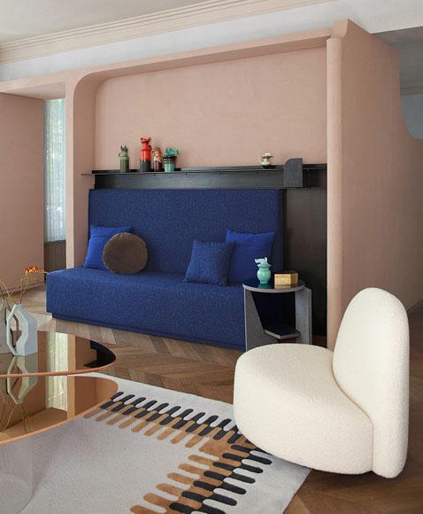 All eyes on brown & blue - Interieurontwerp Marcante Testa - Trend Compass