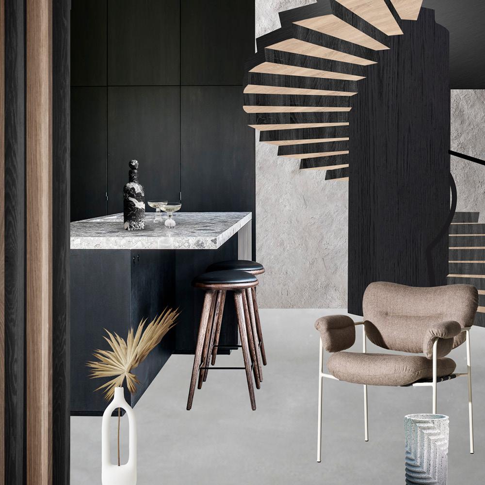 Suite Noir -` Moodboard - Trend Compass